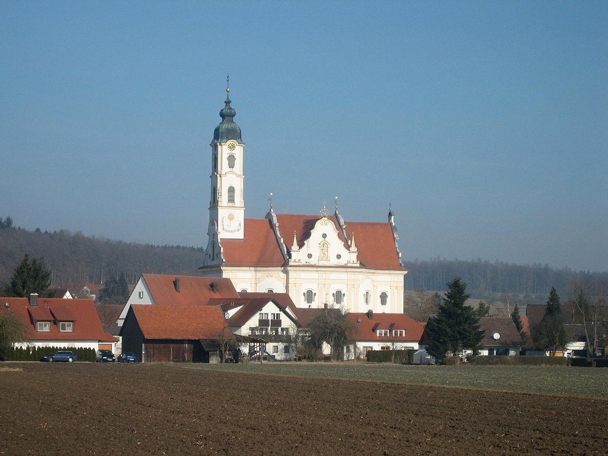 Barockkirche Steinhausen (Foto: Adrian Michael - Eigenes Werk, CC BY-SA 3.0, https://commons.wikimedia.org/w/index.php?curid=3549526)