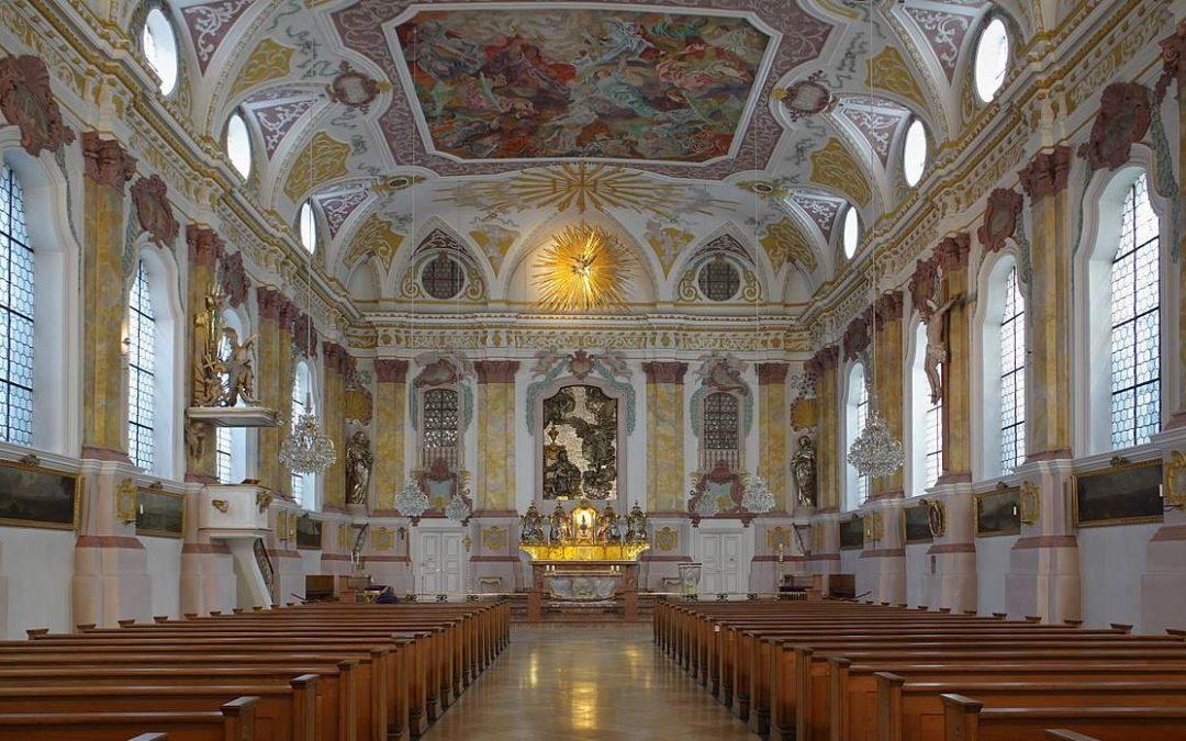 Verleger Josef Fink als Sodale in die Marianische Männerkongregation aufgenommen