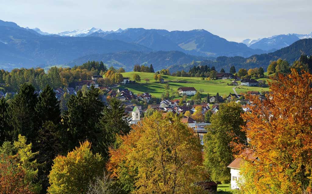 Lindenberg im Allgäu, Sitz des Kunstverlags Josef Fink