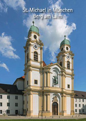 Alexander Heisig, St. Michael in München Berg am Laim, 48 Seiten, 38 Abb., Format 13,6 x 19 cm, Verarbeitung: Broschur Klammerheftung, 1. Auflage 2018, Kunstverlag Josef Fink, ISBN 978-3-95976-158-1