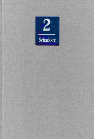 Peters, Schönberger & Partner (Hrsg.), Lothar Altmann, Stefan Groß (Texte), München Schackstraße 2, 72 Seiten, 95 Abb., Format 19,5 x 29,7 cm, 1. Auflage 2019, Kunstverlag Josef Fink, ISBN 978-3-95976-142-0