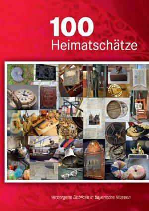 Bayerisches Staatsministerium der Finanzen und für Heimat (Hrsg.), 100 Heimatschätze – Verborgene Einblicke in bayerische Museen, 240 Seiten, 210 Abb., Format 17 x 24 cm, 1. Auflage 2019, Verarbeitung: Hardcover fadengeheftet, Kunstverlag Josef Fink, ISBN 978-3-95976-208-3