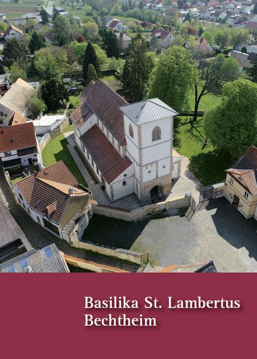 Ulrike und Joachim Glatz, Basilika St. Lambertus Bechtheim, 36 Seiten, 33 Abb., Format 13,6 x 19 cm, 1. Auflage 2019, Kunstverlag Josef Fink, ISBN 978-3-95976-224-3