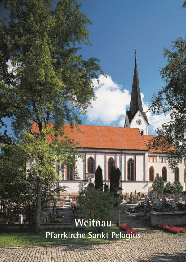 Otto Beck (†), Pfarrkirche Sankt Pelagius in Weitnau, 16 Seiten, 17 Abb., Format 13,6 x 19 cm, 2. Auflage 2019, Kunstverlag Josef Fink, ISBN 978-3-89870-047-4