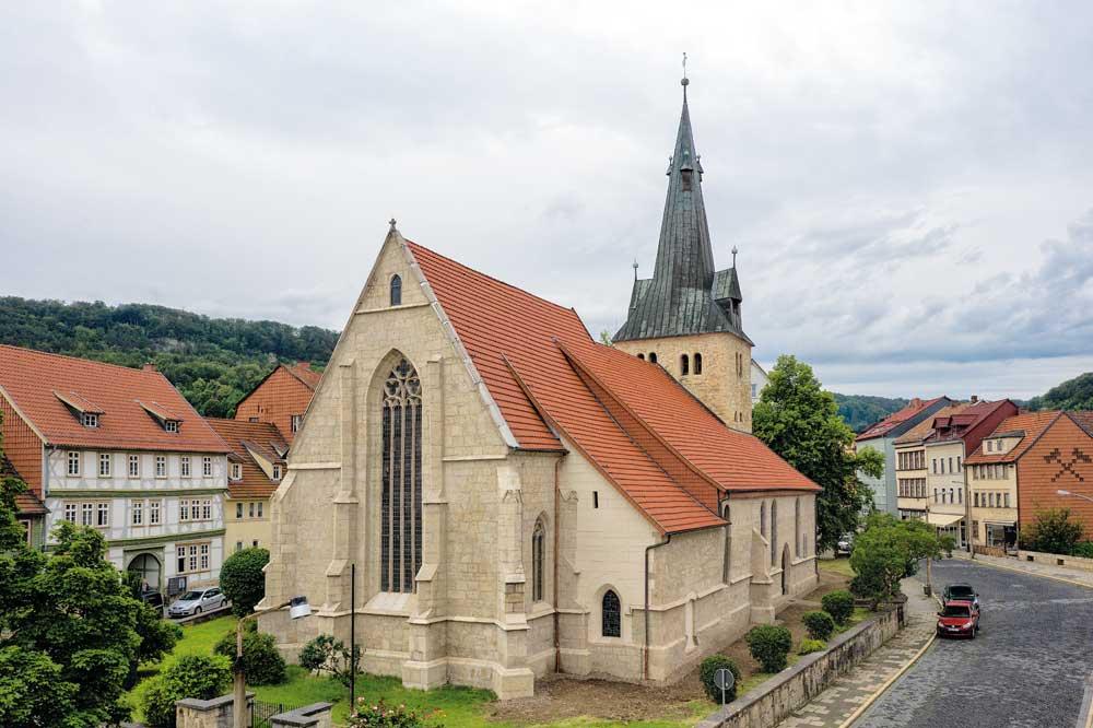 Kunstführer über die St.-Marien-Kirche in Bleicherode