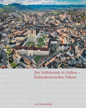 Josef Grünenfelder (Text), Erwin Reiter (Fotos), Der Stiftsbezirk St. Gallen – Kulturhistorischer Führer, 248 Seiten, 200 Abb., Format 19 x 24 cm, 2., aktualisierte und erweiterte Auflage 2019, Kunstverlag Josef Fink, ISBN 978-3-89870-622-3