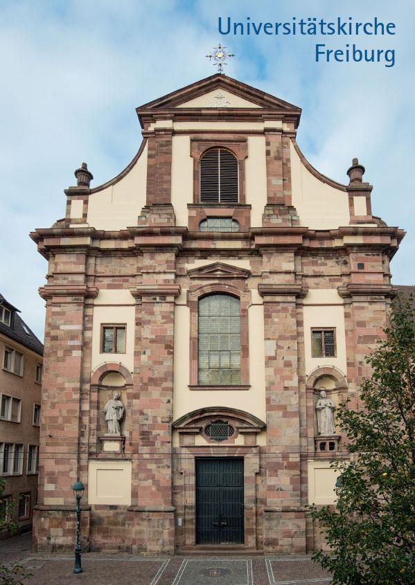 Hans-Otto Mühleisen, Universitätskirche Freiburg, 32 Seiten, 46 Abb., Format 13,6 x 19 cm, 1. Auflage 2020, Kunstverlag Josef Fink, ISBN 978-3-95976-257-1