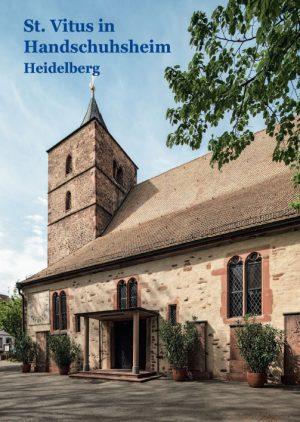Hans Gercke, St. Vitus in Handschuhsheim Heidelberg, 40 Seiten, 45 Abb., Format 13,6 x 19 cm, 1. Auflage 2020, Kunstverlag Josef Fink, ISBN 978-3-95976-260-1