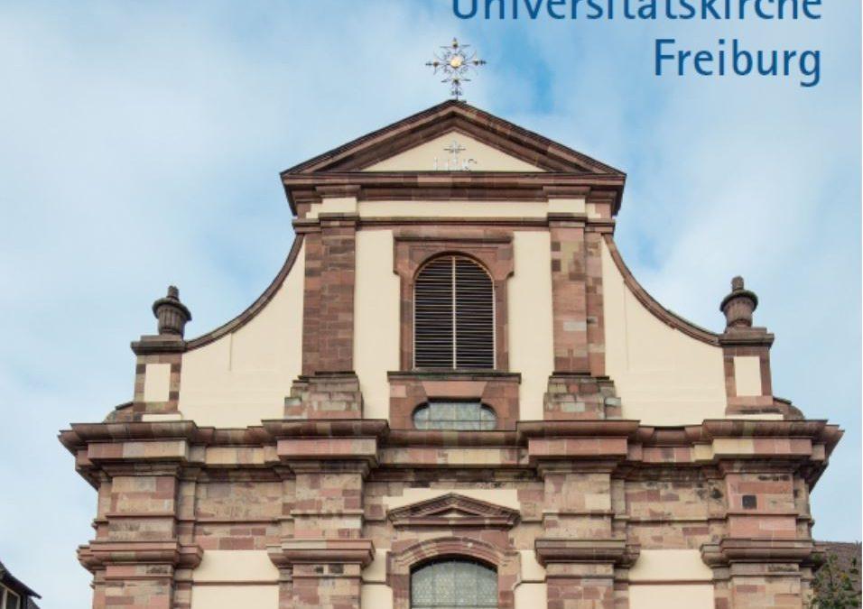 Kunstführer über die Universitätskirche Freiburg