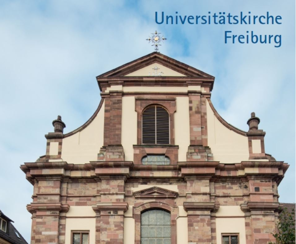 Präsentation des Kunstführers über die Universitätskirche Freiburg, erschienen im Kunstverlag Josef Fink
