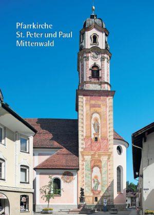 Ingo Seufert, Pfarrkirche St. Peter und Paul Mittenwald, 32 Seiten, 24 Abb., Format 13,6 x 19 cm, 3. Auflage 2020, Kunstverlag Josef Fink, ISBN 978-3-89870-483-0