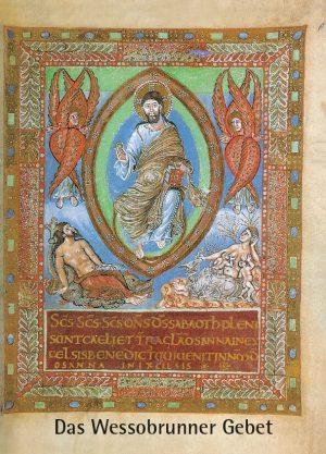 Hans Pörnbacher, Das Wessobrunner Gebet, 32 Seiten, 13 Abb., Format 13,6 x 19 cm, 5. Auflage 2020, Kunstverlag Josef Fink, ISBN 978-3-931820-73-2