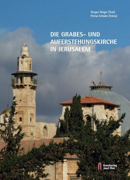 Gregor Geiger (Text), Petrus Schüler (Fotos), Die Grabes- und Auferstehungskirche in Jerusalem, 72 Seiten, 53 Abb., Format 13,6 x 19 cm, 1. Auflage 2020, Kunstverlag Josef Fink, ISBN 978-3-95976-264-9