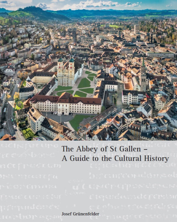Josef Grünenfelder (Text), Katherine Vanovitch (Translation), Erwin Reiter (Photos), The Abbey of St Gallen – A Guide to the Cultural History, 248 Seiten, 200 Abb., Format 19 x 24 cm, 2nd revised and expanded edition 2020, Kunstverlag Josef Fink, ISBN 978-3-89870-730-5