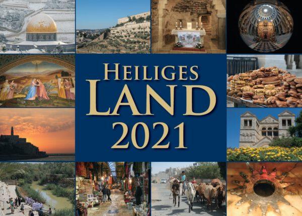 Kommissariat des Heiligen Landes (Hrsg.), Br. Petrus Schüler OFM (Fotos), Heiliges Land 2021 (Kalender), 14 Blätter, 12 Abb., Format 28 x 20 cm, 1. Auflage 2020, Kunstverlag Josef Fink, ISBN 978-3-95976-279-3