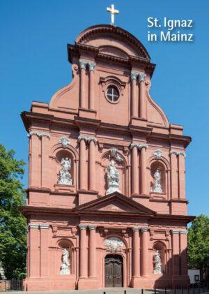 Joachim und Ulrike Glatz, St. Ignaz in Mainz, 32 Seiten, 31 Abb., Format 13,6 x 19 cm, 1. Auflage 2020, Kunstverlag Josef Fink, ISBN 978-3-95976-285-4