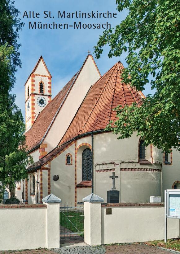 Alte St. Martinskirche München-Moosach, Kunstverlag Josef Fink, ISBN 978-3-89870-011-5