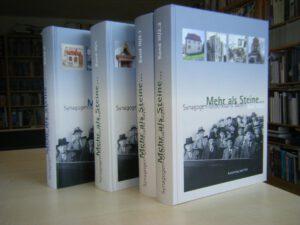 Mehr als Steine ... – Synagogen-Gedenkband Bayern. Gesamtpaket