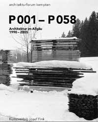 P001-P058. Architektur im Allgäu 1990-2005